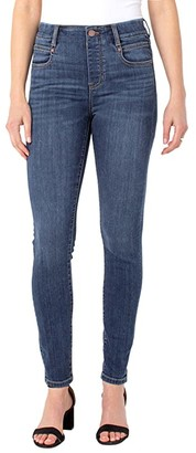 Liverpool Gia Glider Pull-On Skinny Jeans in Basel (Basel) Women's Jeans