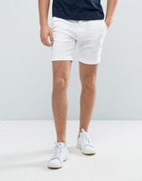 Selected Slim Fit Chino Shorts with Stretch