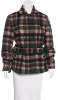 Polo Ralph Lauren Wool Plaid Coat w/ Tags