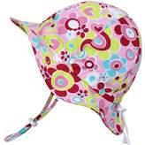 Twinklebelle Toddler Sun Hat, Size Adjustable, 50 UPF Cotton