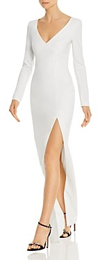 LIKELY Leandra Long-Sleeve Gown