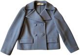 Marni Turquoise Wool Jackets