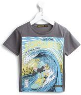 Finger In The Nose surfer print T-shirt