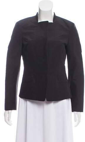 Narciso Rodriguez Silk-Blend Tailored Jacket