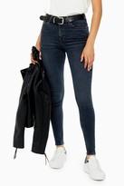 Topshop Blue Black Jamie Skinny Jeans