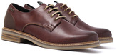 Barbour Bramley Dark Brown Leather Derby Shoes