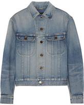 Saint Laurent Studded Denim Jacket - Mid denim