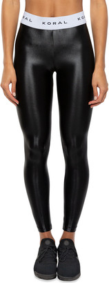Koral Aden Mid-Rise Figure-Forming Leggings