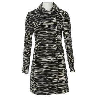 Michael Kors Black Wool Coats
