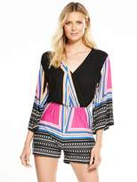 Very Placement Print Playsuit