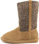 BearPaw Adrianna Women's Knit Cold Weather Sheepskin Boots