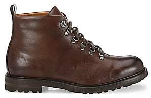 Saks Fifth Avenue Brandon Burnished Leather Ankle Boots