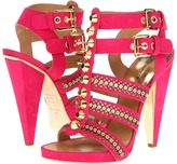 DSquared DSQUARED2 - S13C206102 43 Sandal (Metal Camoscio Fuxia) - Footwear