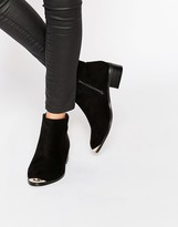 Daisy Street Western Style Heeled Boots