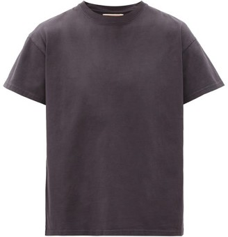 Jeanerica Jeans & Co. - Marcel 200 Short-sleeved Cotton T-shirt - Mens - Grey Navy