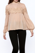 Endless Rose Lace Detail Blouse