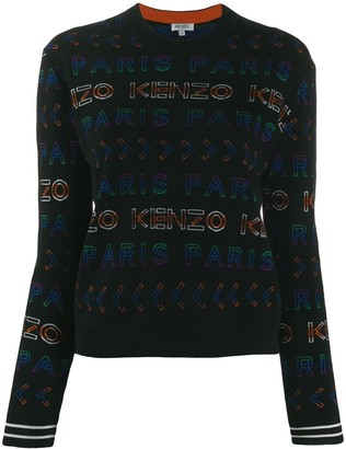 Kenzo All-Over Logo Jumper