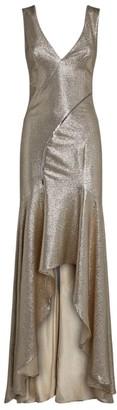 Galvan Metallic Releve Dress