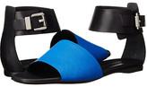CNC Costume National Color Block Flat Sandal