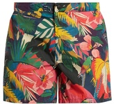 Valentino Tropical-print swim shorts