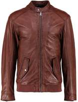 Oakwood Busy Leather Jacket Cognac