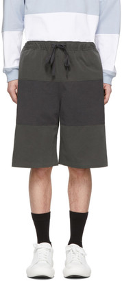 J.W.Anderson Grey Rugby Shorts