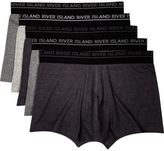 River Island Grey Hipsters Multipack