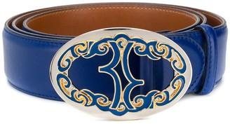 Billionaire Logo Plaque Belt