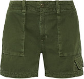 Current/Elliott The Industrial cotton-twill shorts