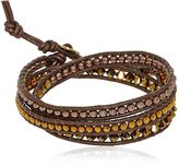 Swarovski & Hematite Bracelet