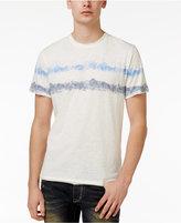 American Rag Men's Shibori Stripe Graphic-Print T-Shirt, Only At Macy's