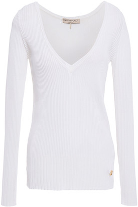 Emilio Pucci Ribbed-knit Sweater