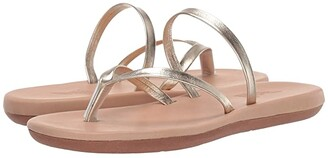 Ancient Greek Sandals Flip-Flop (Platinum) Women's Shoes