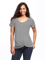 Old Navy Maternity Twist-Front Dolman-Sleeve Top