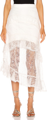 Alexis Firuza Skirt in White | FWRD