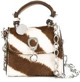 Ermanno Scervino zebra pattern crossbody bag - women - Calf Hair - One Size