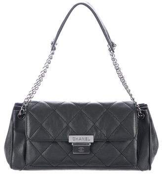 Chanel E/W Lambskin Accordion Flap Bag