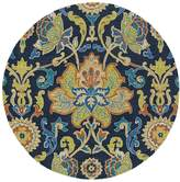 Kaleen Taj Hand-Tufted Wool Round Rug