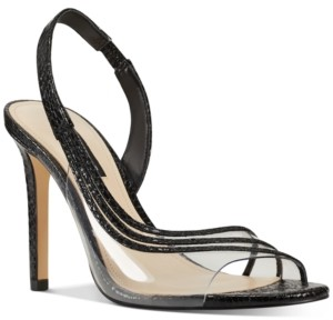 Nine West Issy Vinyl Slingback Pumps Women's Shoes