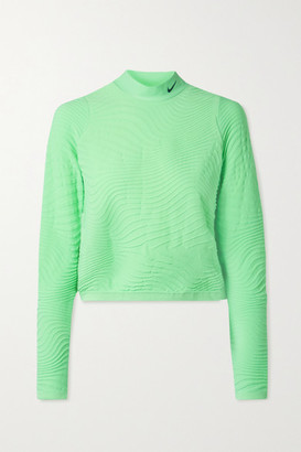 Nike City Ready Jacquard-knit Top - Mint