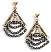 Givenchy Women's Beaded Drop Earrings