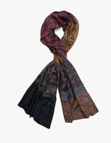 Pierre Louis Mascia Aloe Scarf Red Multi