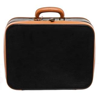 Hermes Black Leather Travel bags