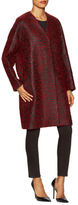 Balenciaga Wool Boucle Raglan Coat
