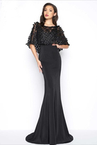 Mac Duggal Black White Red Style 20064R