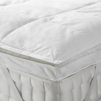 John Lewis & Partners Natural Duck Down 5cm Deep Mattress Topper