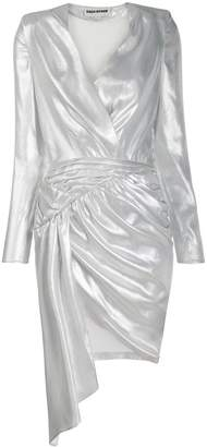 Each X Other asymmetric ruched dress