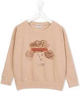 Bobo Choses John sweatshirt - kids - Organic Cotton/Polyester/Spandex/Elastane - 3 yrs