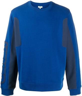 Kenzo Panelled Logo Sweatshirt