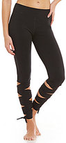 Free People Wrap Ankle Compression Legging